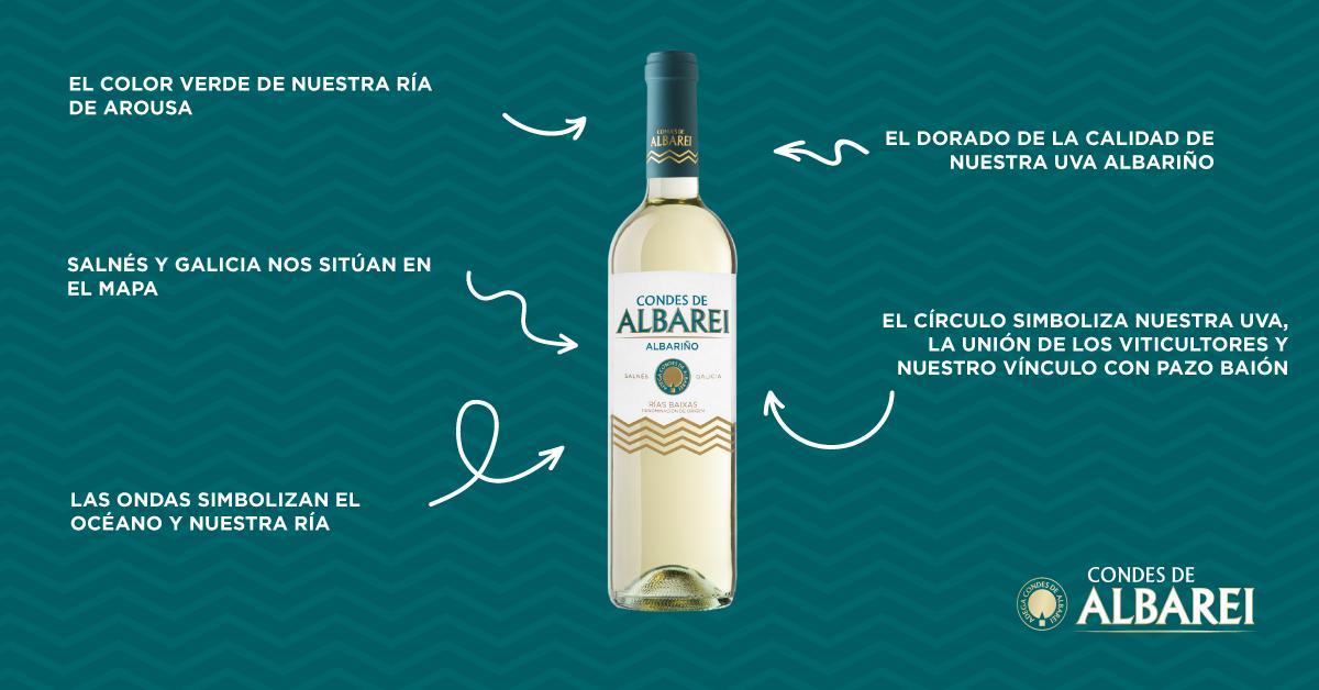 Nueva etiqueta Condes de Albarei
