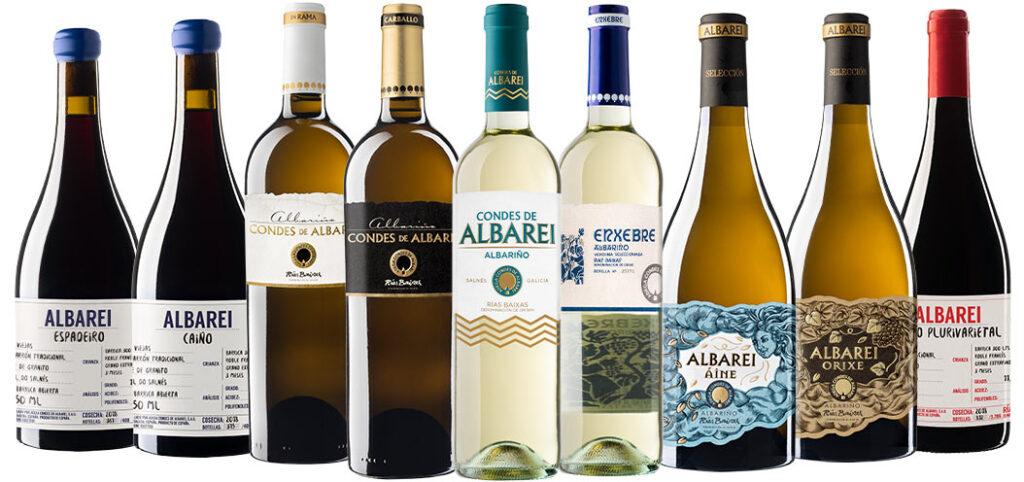 Nuestros vinos - Condes de Albarei